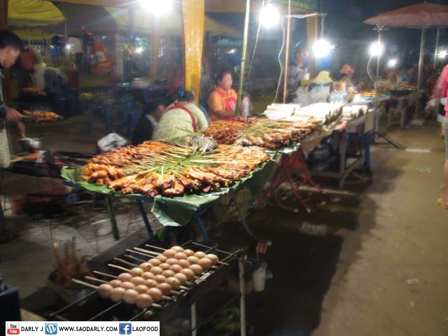 Food and Games That Luang Festival